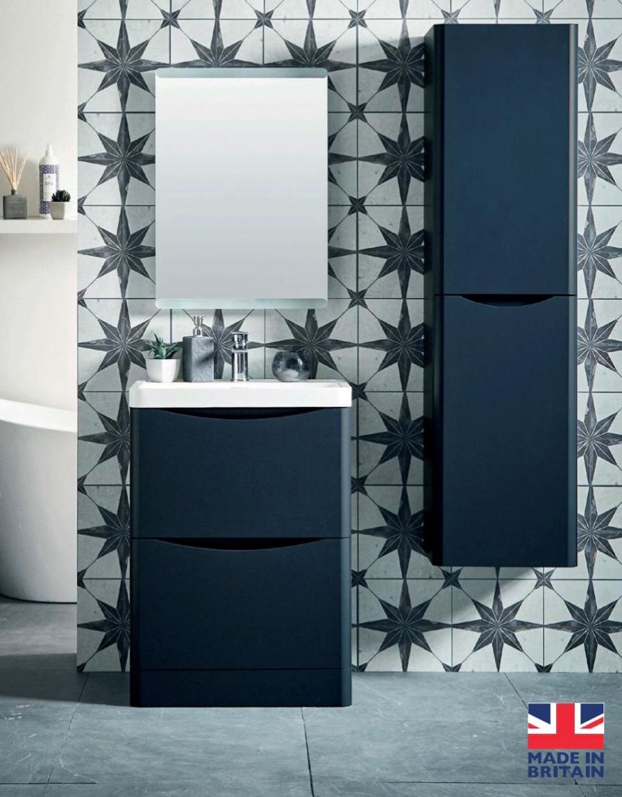 belle wall hung or floor standing cabinet basin range
